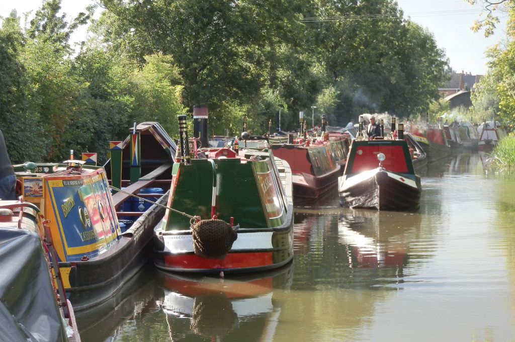 Shackerstone Family Festival on the Ashby Canal, Leicestershire