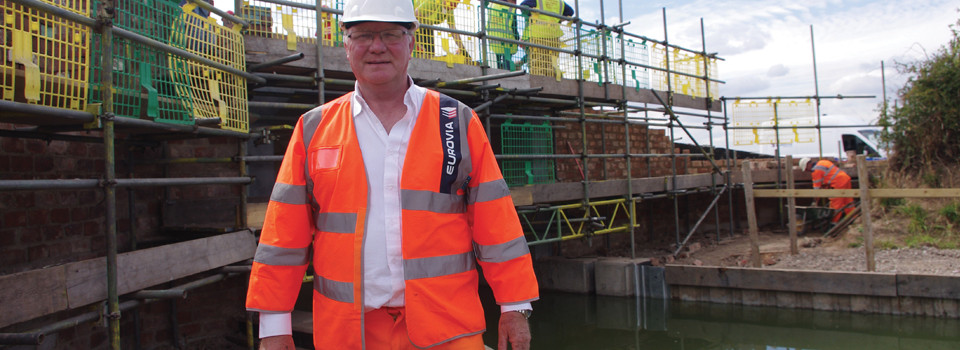 Restoration of Bridge 62 on the Ashby Canal