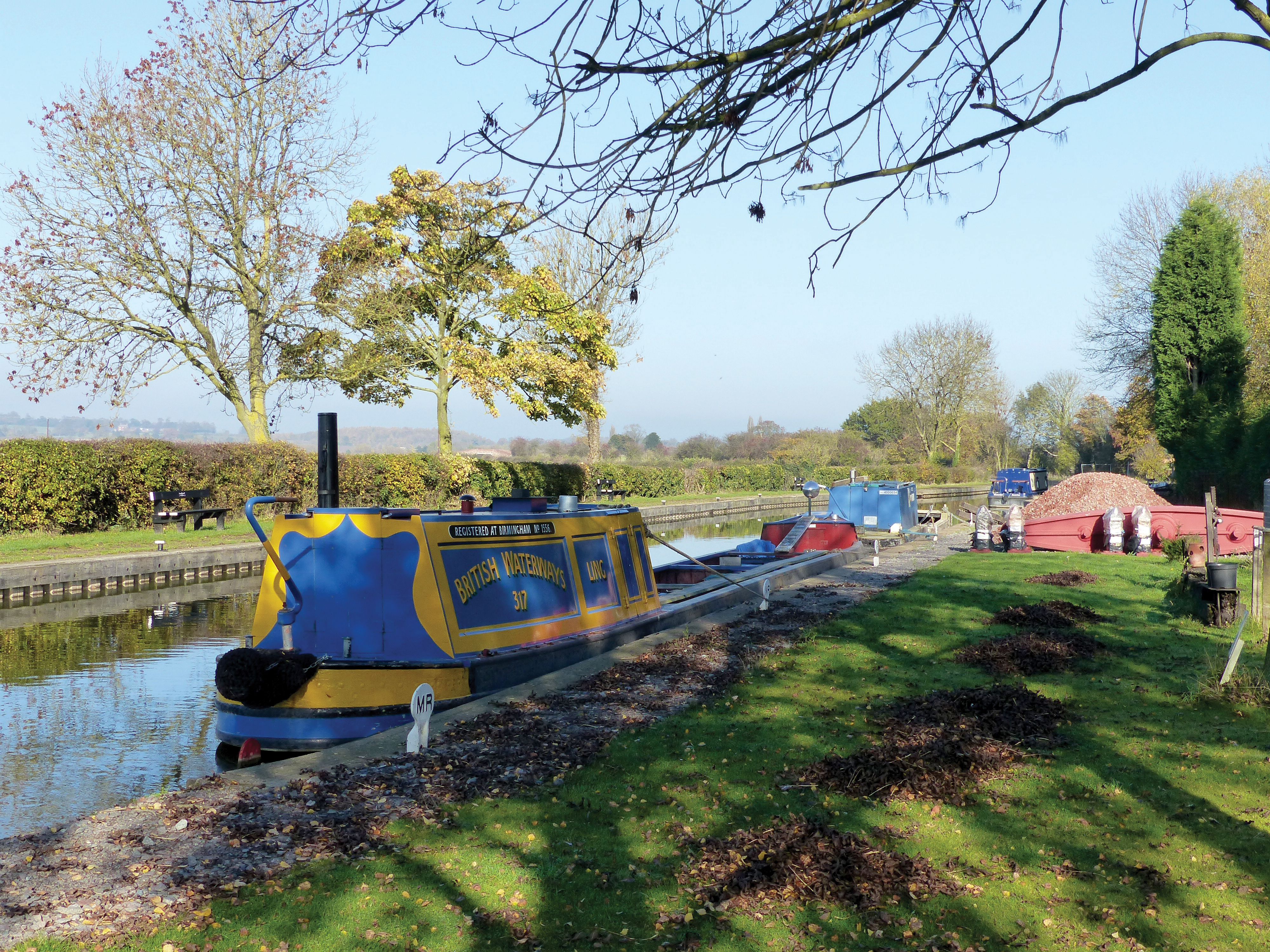The Ashby Canal at Snarestone