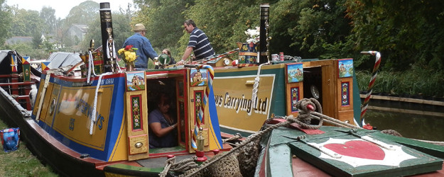 Shackerstone Family Festival on the Ashby Canal