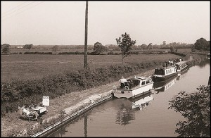 Bosworth mooring, ACA walk staging post, 1978.