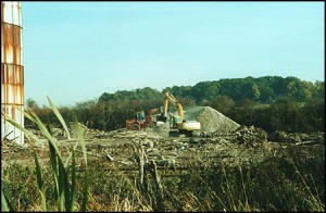 Timber Processing Factory, Market Bosworth, October 2003.