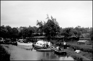The canal at Shackerstone in the late 50's early 60's. What is the event?